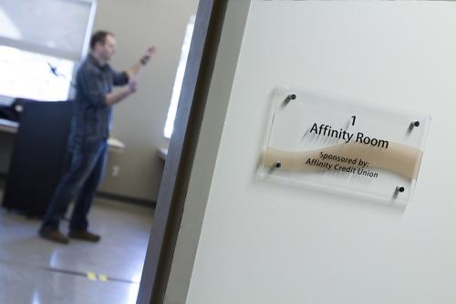 Affinity Credit Union Meeting Room - BOARD ROOM STYLE